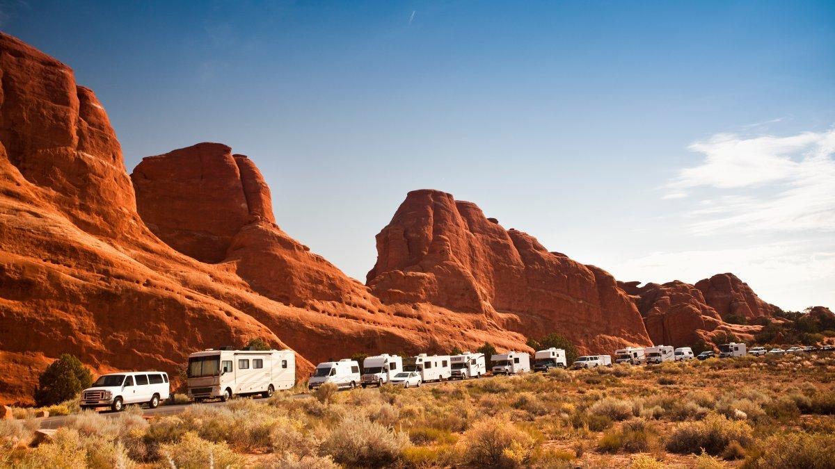 Acampada en los parques nacionales, ¿privatizada?