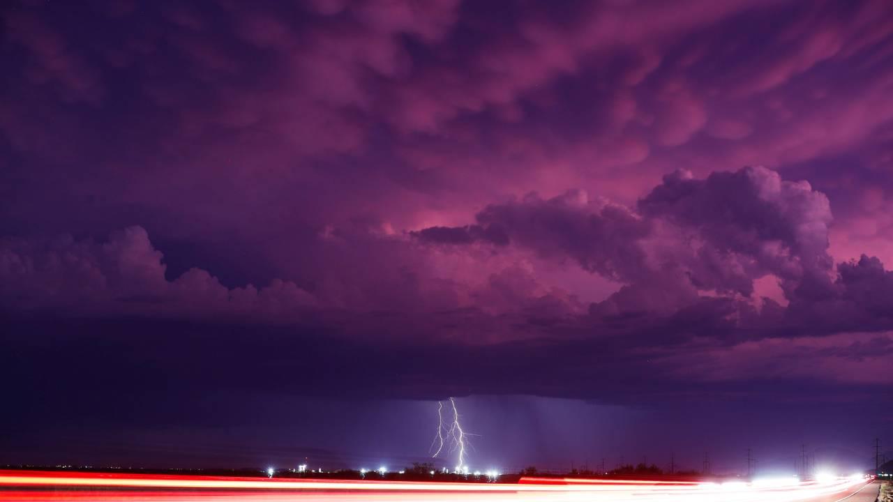 El monzón en el sudeste de los Estados Unidos